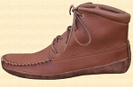 Field Boot Moccasins Saddle