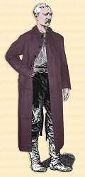 Duster -Outlaw Duster Coat - Canvas - Heritage Brand 2XL Dark Tan
