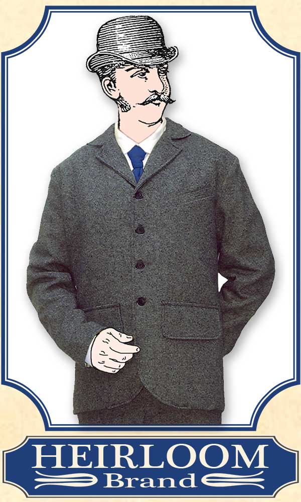 Victorian Mens Suits & Coats Gentlemens Dandy Suit $439.00 AT vintagedancer.com
