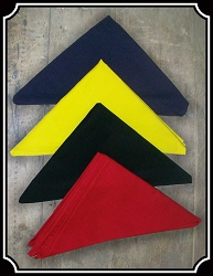 Bandana - Cotton Triangle Bandana Solids