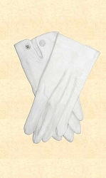 Gloves - Dress Gloves - White