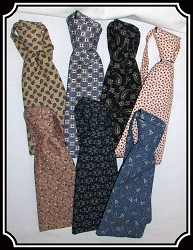 Tie - Wide Teck Tie Paisleys and Calicos