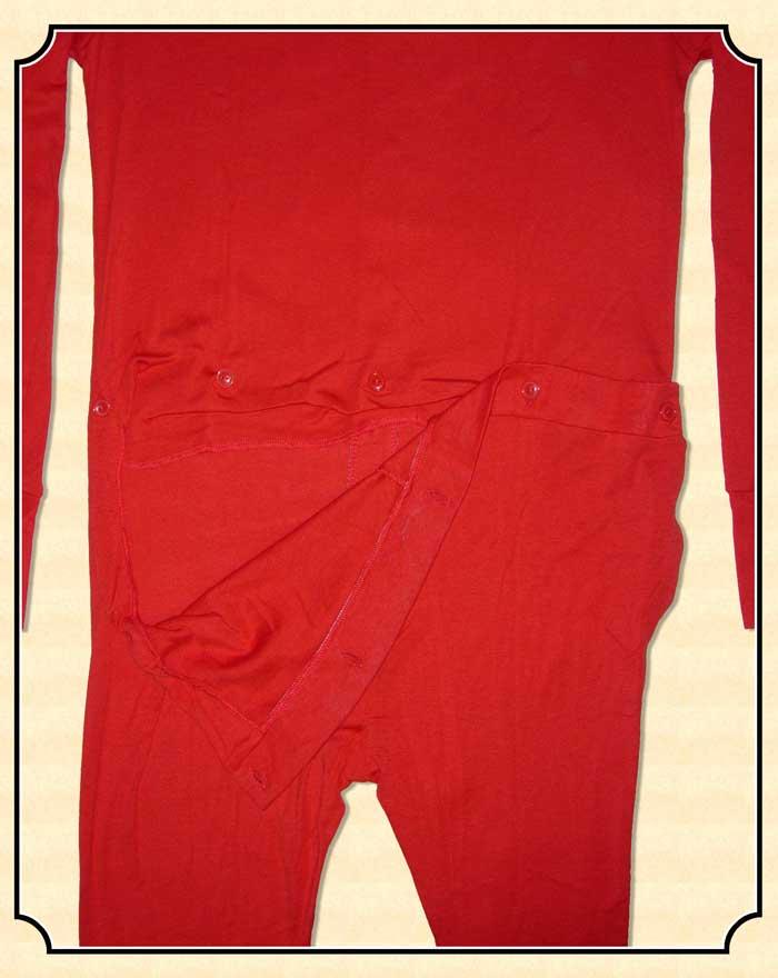 Men S Trap Door Long Underwear