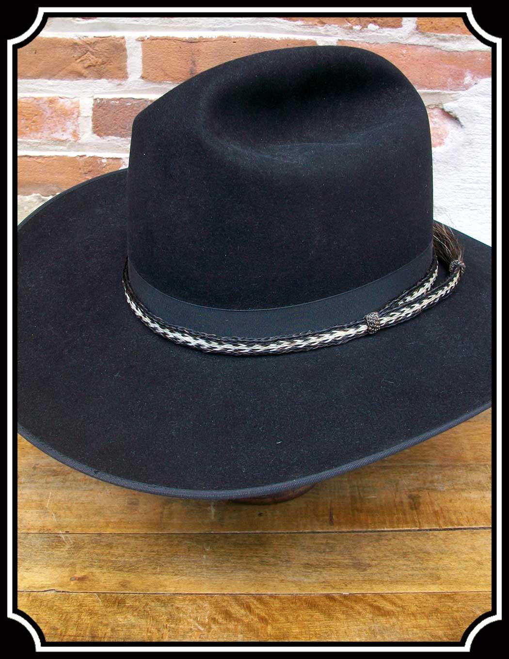 Men's Hat - Horsehair Hat Bands - 1/2 inch wide