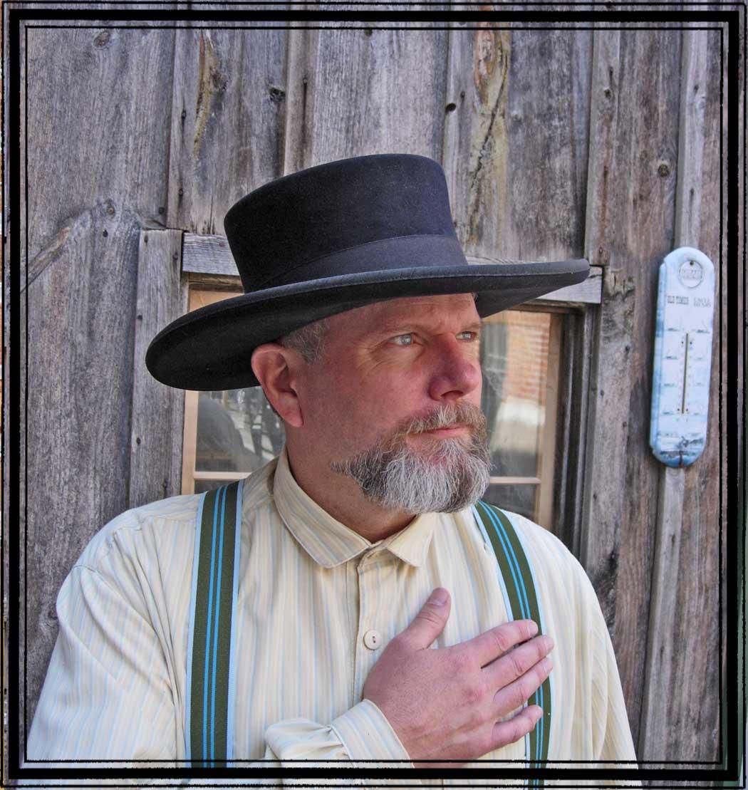 Abolitionist - 10X Fur Felt hat