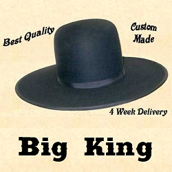 Z Sold - Men's Hat - Big King Cowboy Hat - 10X Felt