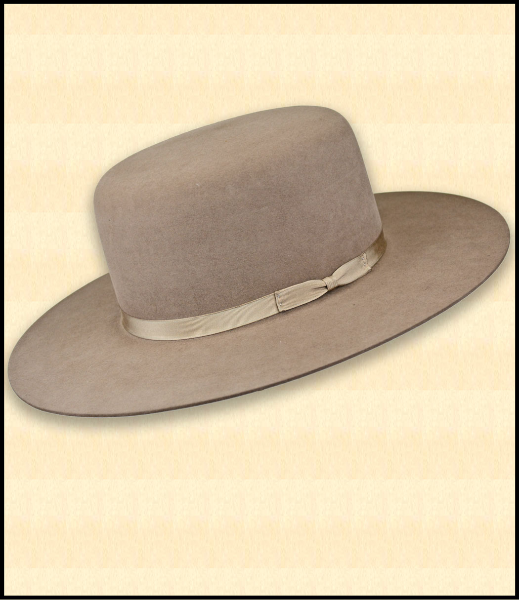 092d1e1290328 The Boss of the Plains Hat is the most authentic Old West cowboy hat we  offer. Available in Pecan 10X Felt - Click to Enlarge Image