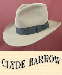 Men's Hat - Clyde Barrow Fedora