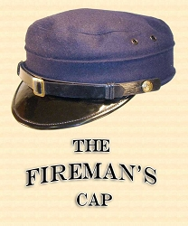 Men's Hat - CHARACTER CAP: Fireman, Conductor. Riverboat Captain, Military, etc.