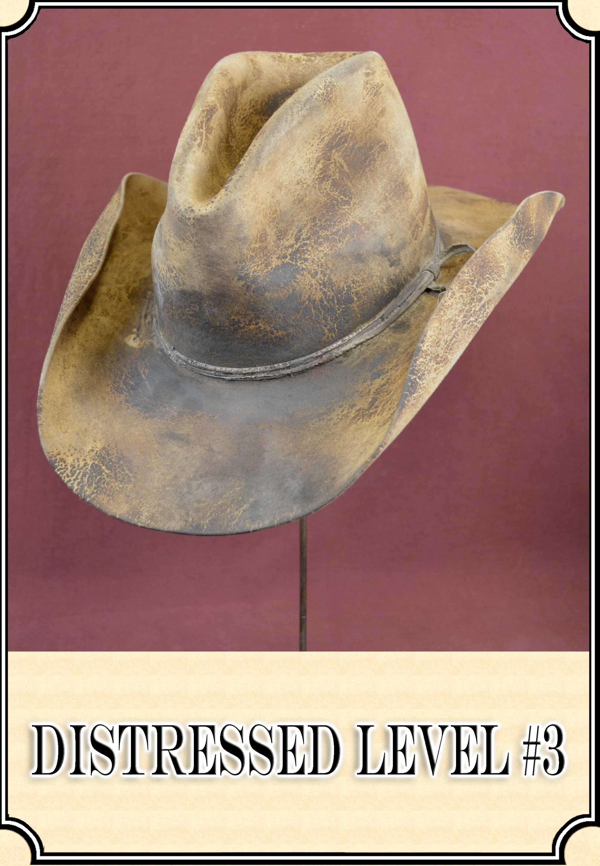Cowboy Hat Antiquing and Distressing