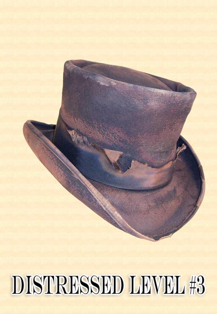 Men S Hat Hat Antiquing Or Distressing Service