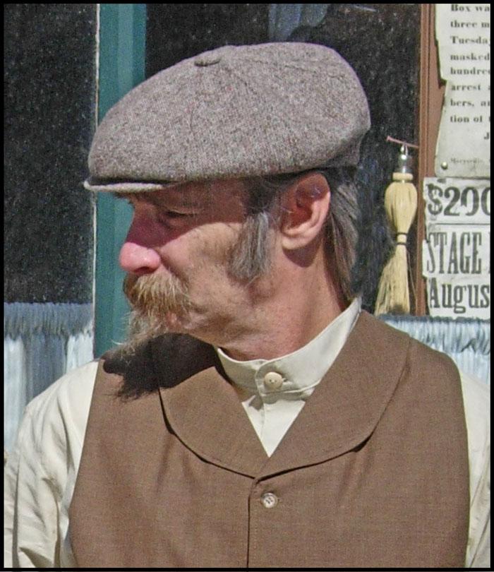 Irish Eight Piece Cap Or 19th Century Newsboy Cap
