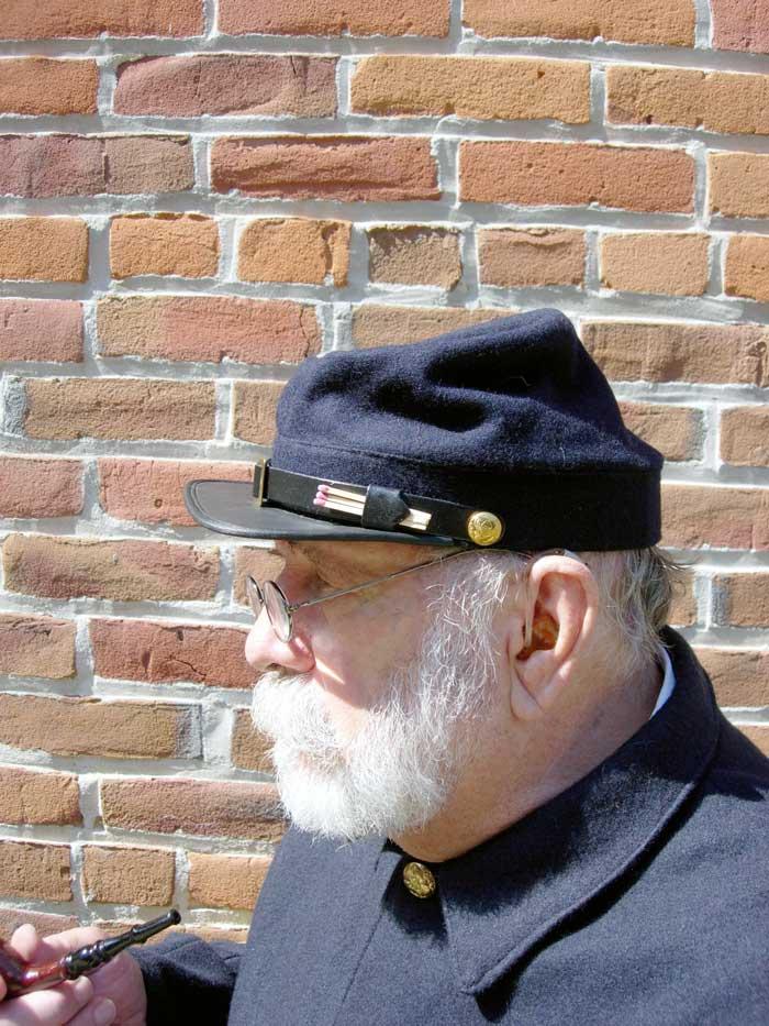 Civil War Union Kepi From War Between The States