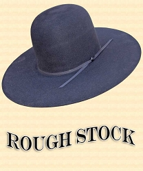 z sold - Men's Hat - Rough Stock Hat Body 10X - 6 1/2