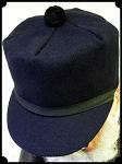 z Sold - Stockman or Scotch Cap - 80 %Wool - Navy 4c60fd46a4b