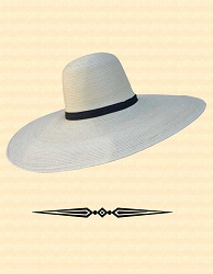 Men's Hat - Straw - 6