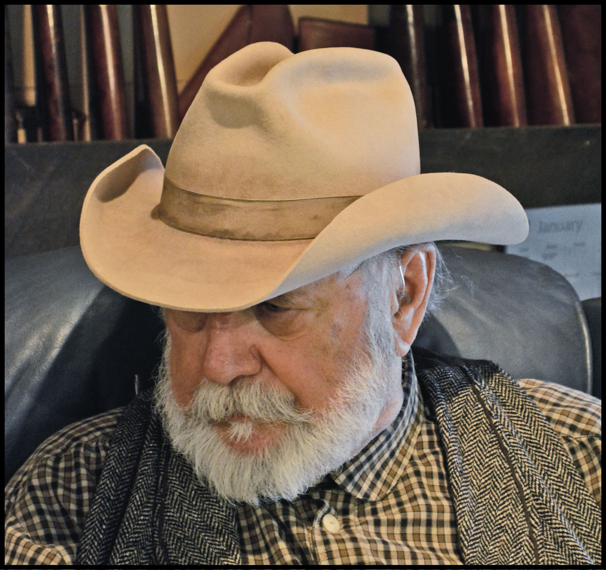 c517bf39de0df Glen Ford Hat Style featuring a 4 1 2 inch finished crown and a 3 1 4 in.  unbound brim - Click to Enlarge Image