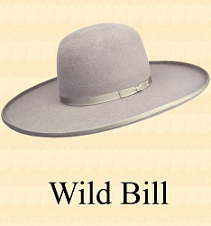 Men's Hat - Wild Bill - 10X Felt