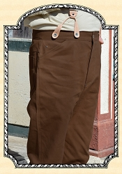 Trousers - Gold Rush Jeans - Brown Duck - Heirloom Brand