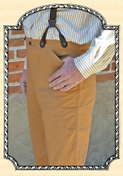 Trousers - Heirloom Brand Tan Duck Gold Rush Jeans