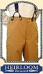 Z Sold Trousers - Suspender Pants Gold Rush Jeans - Heirloom Brand