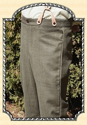 Trousers - Brown Herringbone Dress Wool Heirloom Brand