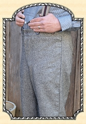 Trousers - Tweed - Worsted Wool - Heirloom Brand