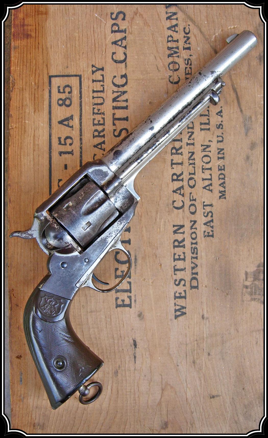 z Sold ~ Rare Remington model 1890, single action revolver ...