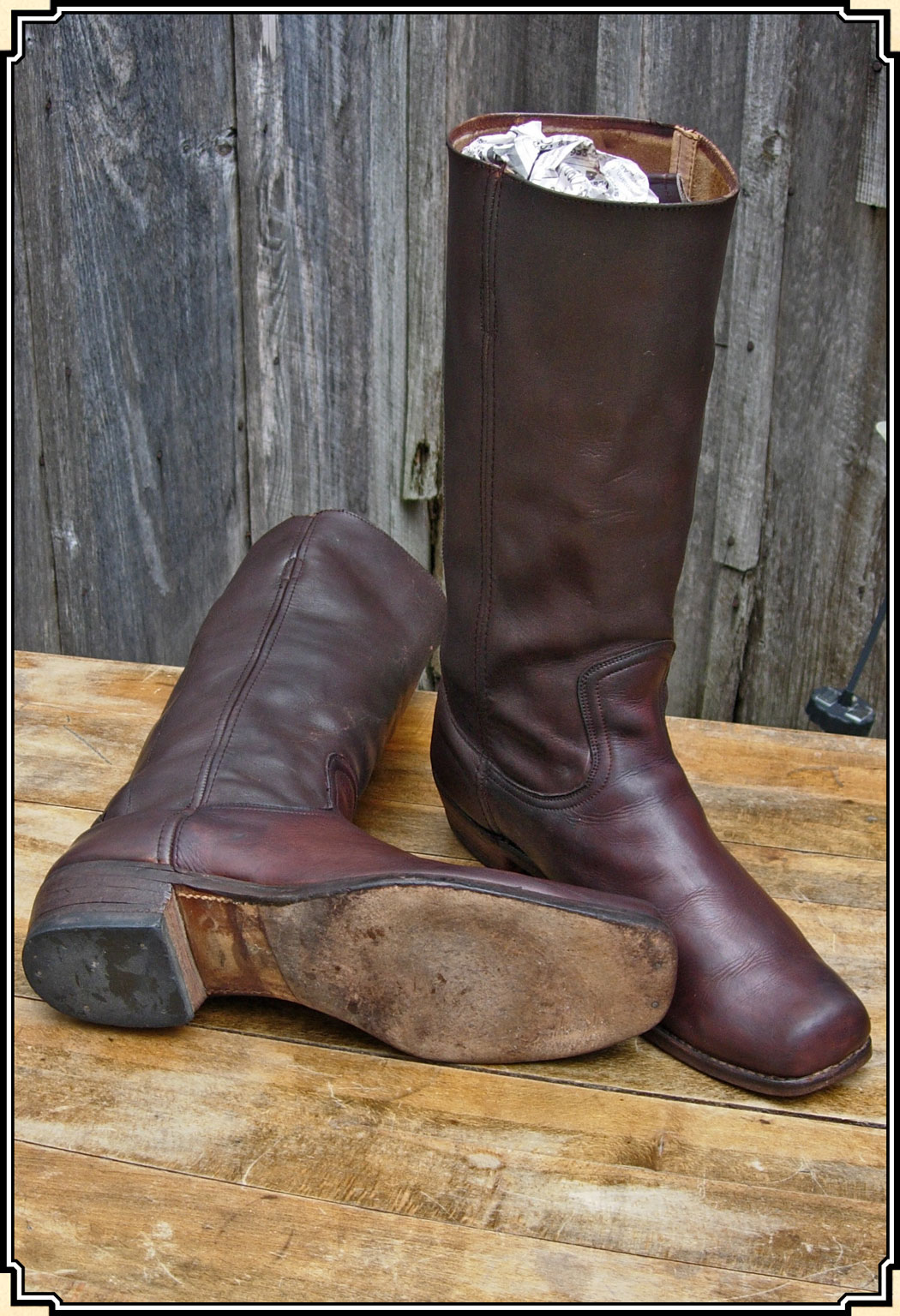 Sold Nice Old West Period Style Boots