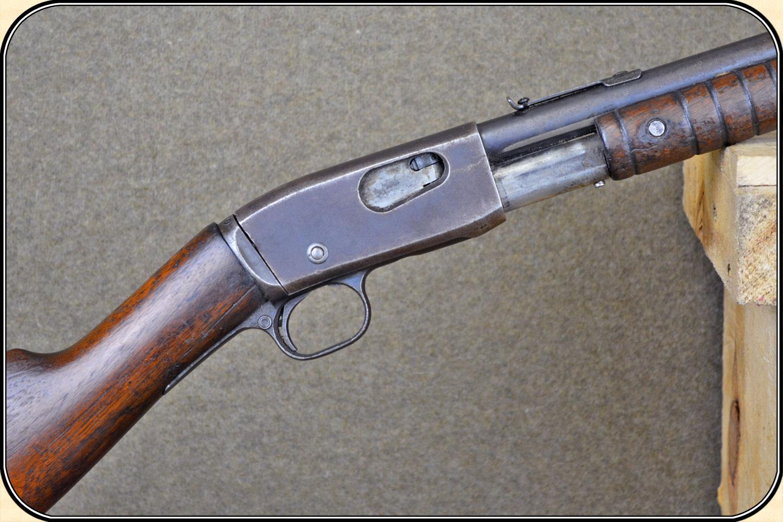 z Sold Remington Model 12 slide action .22 cal