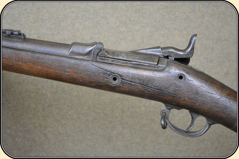 & z Sold Model 1873 Springfield trap door rifle