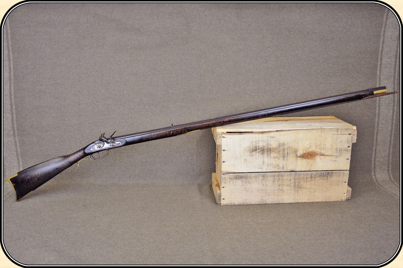 z Sold ~ Custom made  40 cal  Kentucky flintlock rifle