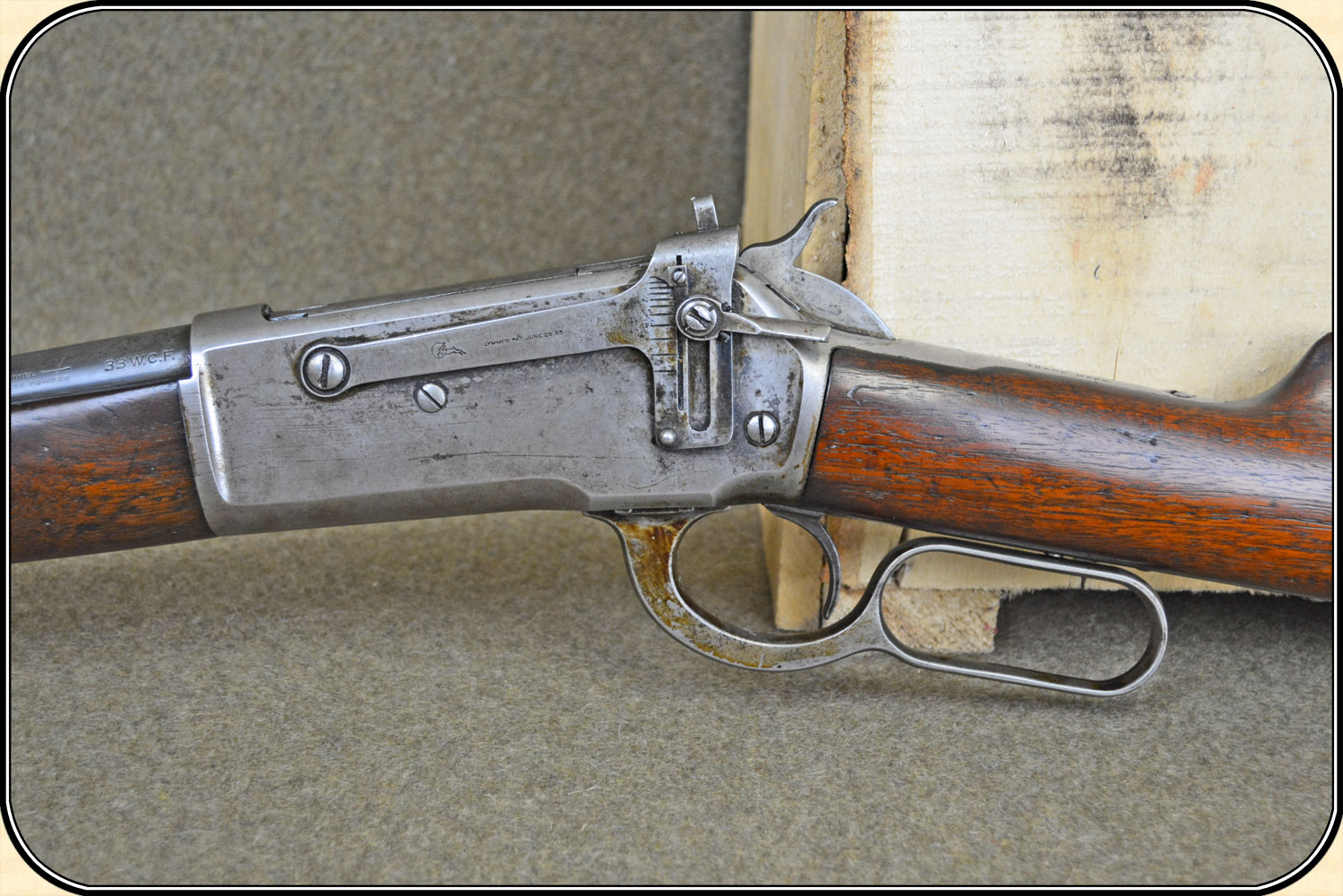 z Sold Price Reduced Winchester 1886,  33 WCF Half Magazine