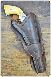 1858 Remington holster Copied from original in the River Junction Collection
