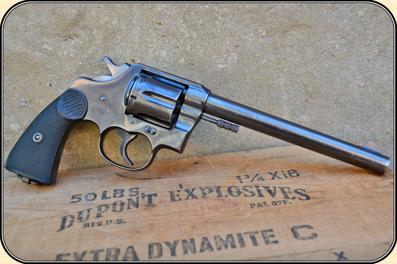 z Sold .45 Long Colt New Service revolver