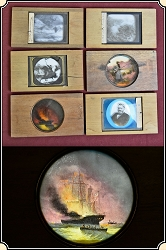 Civil War Magic Lantern slides