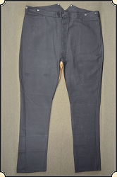 Trousers - Vaquero Pants - Cotton with leather saddle seat