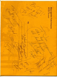 Books - 7 SEVEN Autographs of Famous TV Western Stars