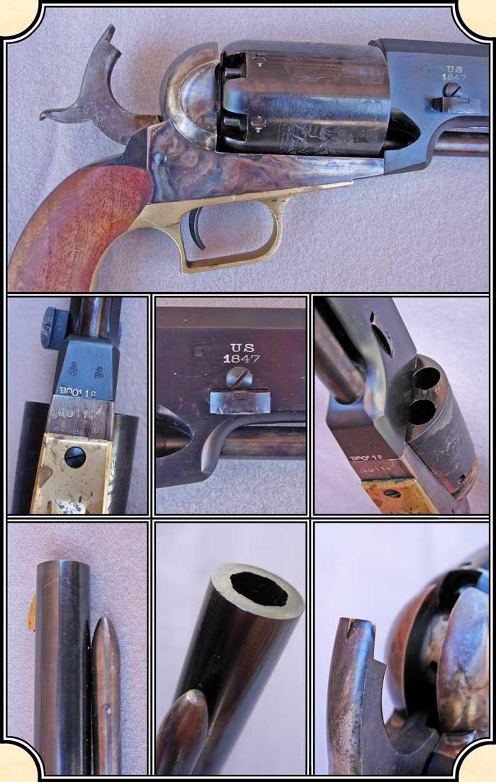 Unfired Colt Walker Reproduction
