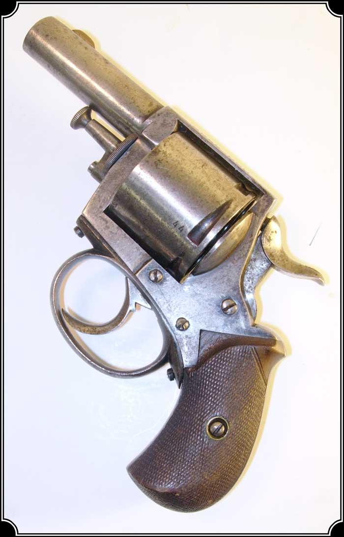 original antique british bulldog revolver