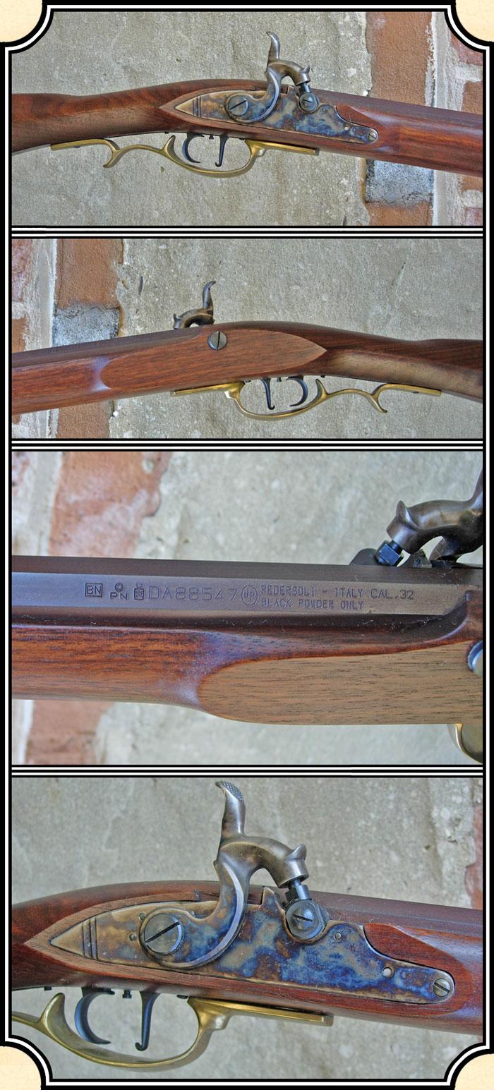 z Sold ~ Pedersoli Frontier Rifle -  32 Caliber Percussion
