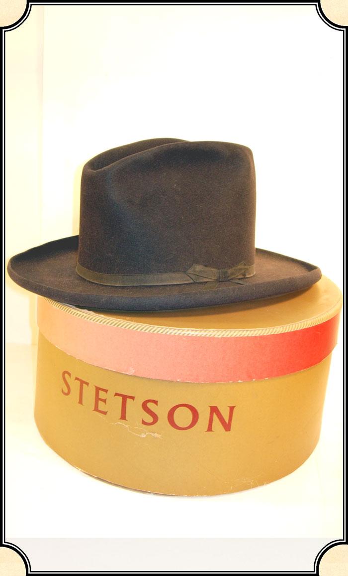 863db2ce5d200c z Sold ~ Men's Hat - $100 Off - ON SALE ~ Antique Stetson Hat with Original Stetson  Hat Box