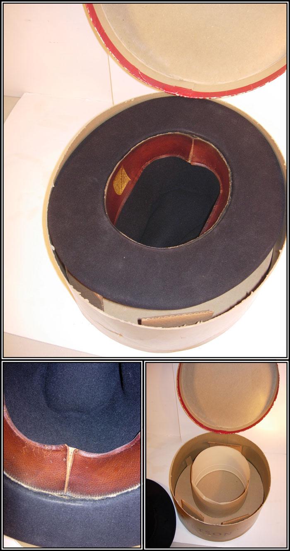 Original Mens Stetson Hat With Box