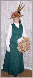 Vest - Discontinuing - 50% Off While They Last ~ Ladies' 1890s Walking Vest