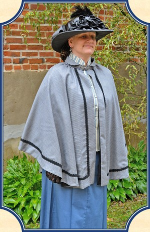 Cape - Ladies' Victorian Cape - Heirloom Brand