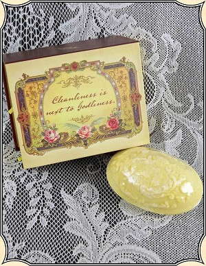 Angel's Wing Pendant Treasure Soap