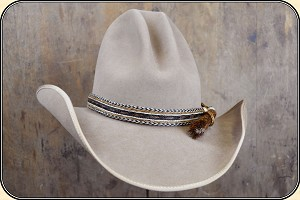 z-Sold Men's Hat - Horsehair Hat Band Wide - 1 inch