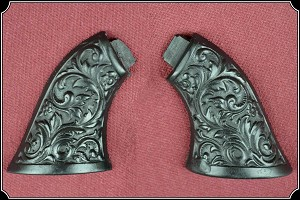 Black Grips Will fit Original Sharps .22  Derringer RJT#3640