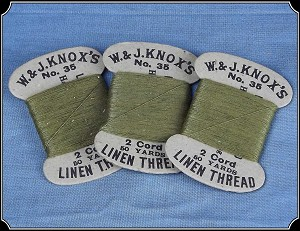 W and J Knox's Linen Thread