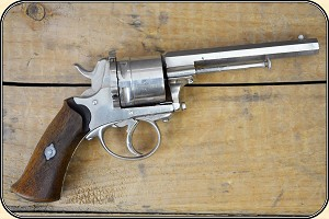 z Sold Lefaucheux Center Fire Revolver Conjures Up Images of Painted Ladies and Rowdy Saloons